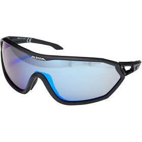 Alpina S-Way L CM+ Glasses black matt